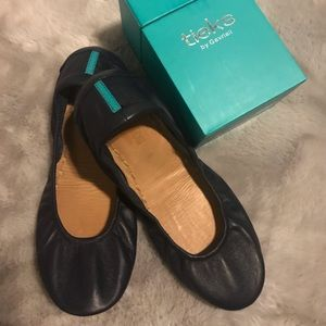Tieks California Navy 8